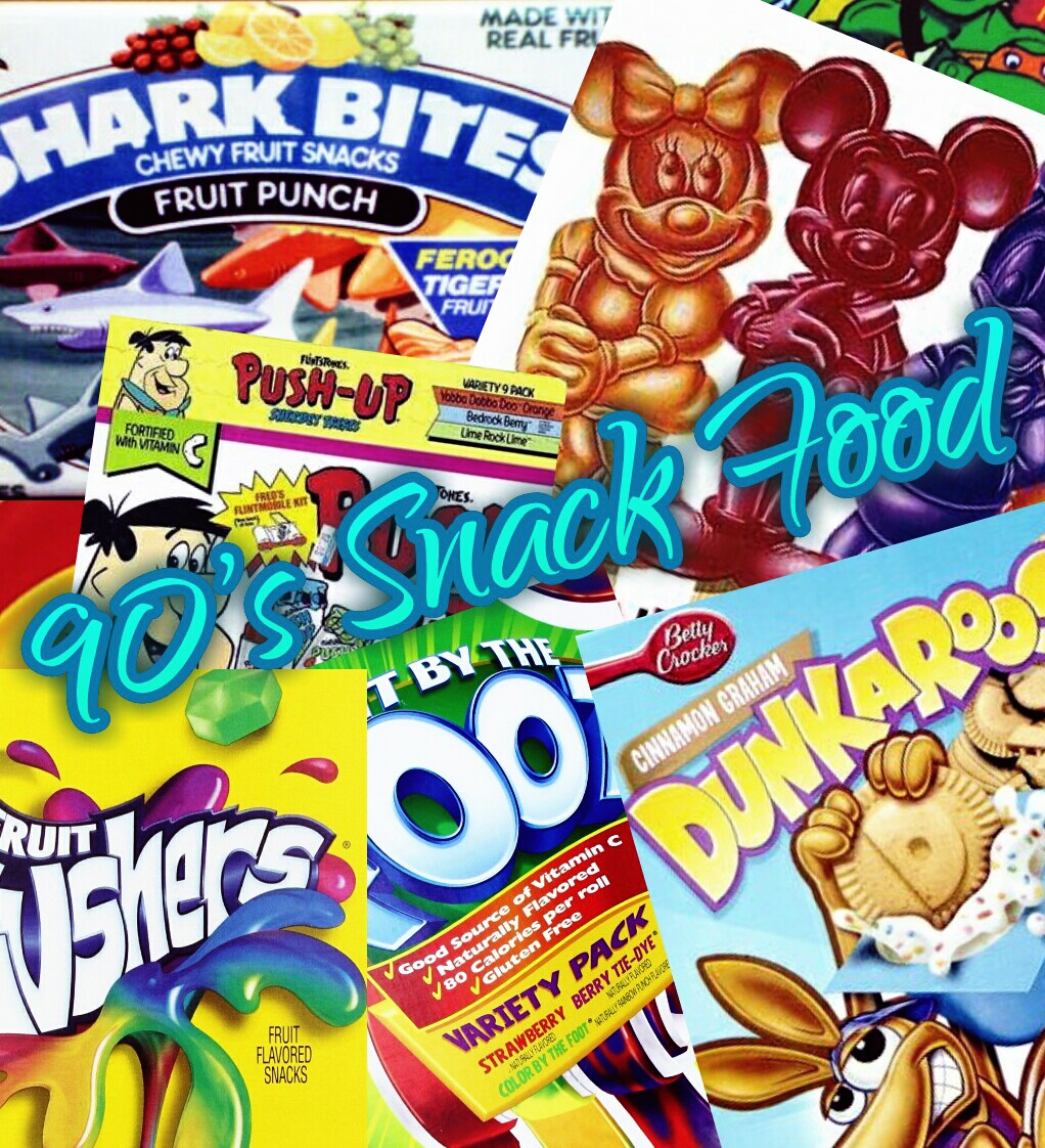 snack foods from the 90's
